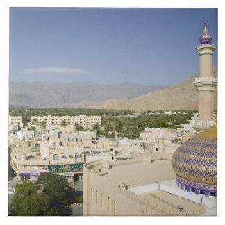Oman, Western Hajar Mountains, Nizwa. Nizwa Tile