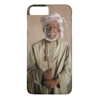 Omani Warrior: Cool Vintage Photo iPhone 8 Plus/7 Plus Case