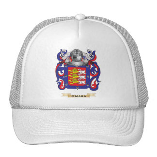 O'Mara Coat of Arms (Family Crest) Trucker Hat
