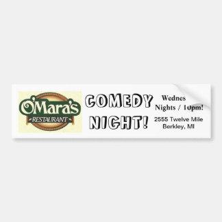 O'Mara's Bumper Sticker