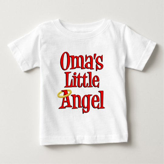 Oma's Little Angel Baby T-Shirt