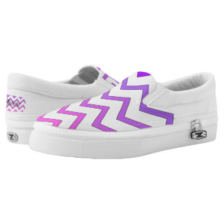 Ombre Chevron Shoes
