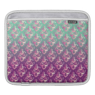 Ombrè Damask Sleeves For iPads