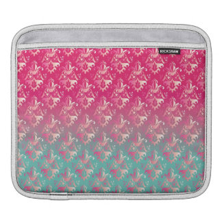 Ombrè Damask Sleeve For iPads