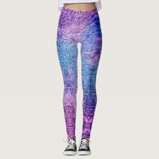 Ombre Festival Leggings Yoga Pants