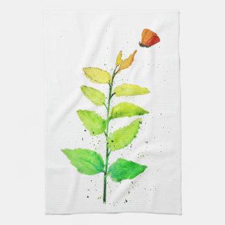 Ombre Garden Tea Towel