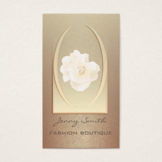 Ombre gentle elegant modern luxury romantic rose business card