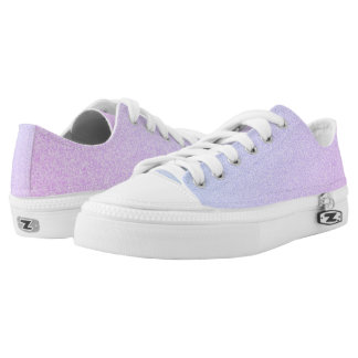 Ombre Glitter Low Tops