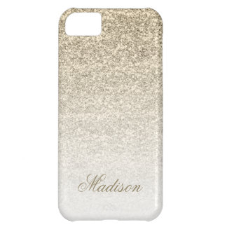 Ombre Gold Glitter iPhone 5C Case