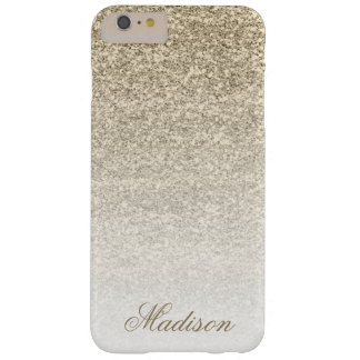Ombre Gold Glitter iPhone 6+ Case