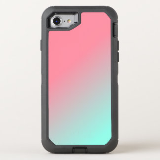 Ombre Green to Pink Phone Case
