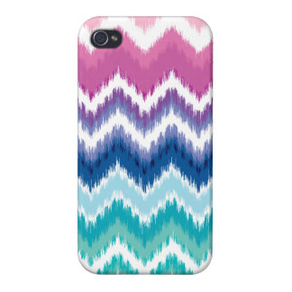 Ombre Ikat Chevron Case For The iPhone 4