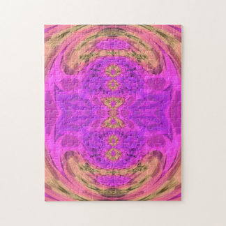 Ombre Kaleidoscope 3 Jigsaw Puzzle