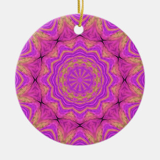 Ombre Kaleidoscope 4 Christmas Ornament