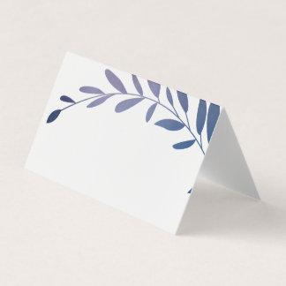 Ombre laurels place cards
