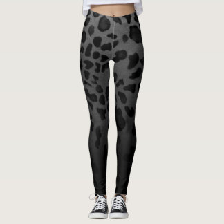 Ombre Leopard Leggings