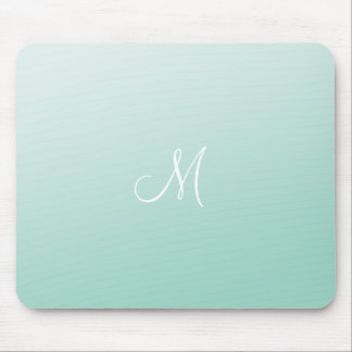 Ombre Mint Green Mouse Mat
