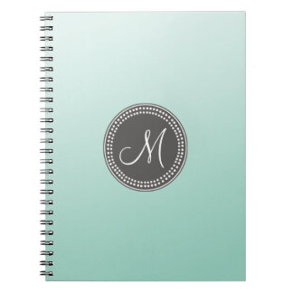 Ombre Mint Green Notebook