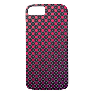 Ombre Multicolored Polka Dot iPhone 7 Phone Case