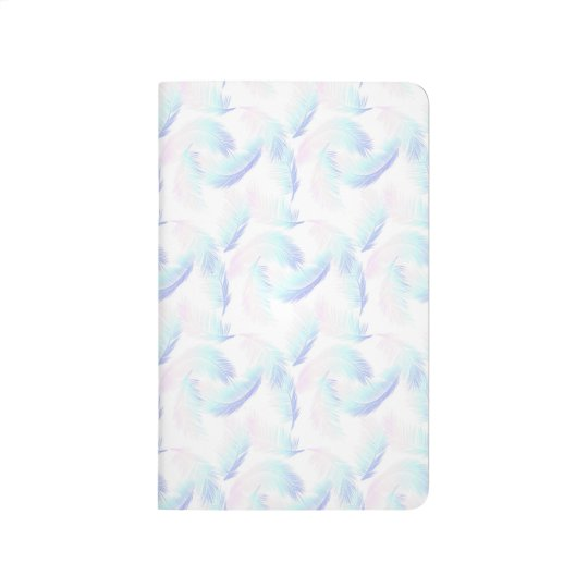 Ombre Pastel Palm printed all over Notebook Journal