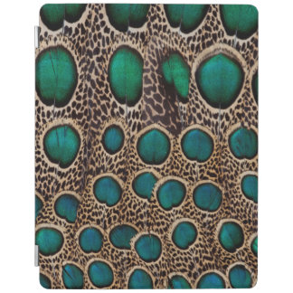 Ombre Peacock Pheasant Feathers iPad Cover