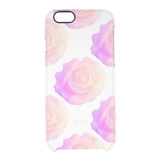 Ombre Pink Frosting Rose Change Background Color iPhone 6 Plus Case
