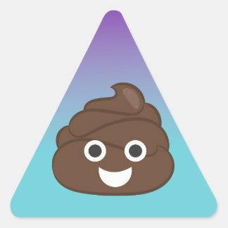 Ombre Poop Emoji Stickers