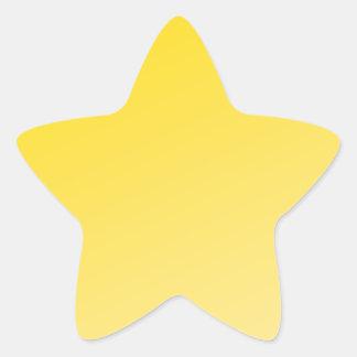 Ombre Shinning Stars (Yellow) Star Sticker