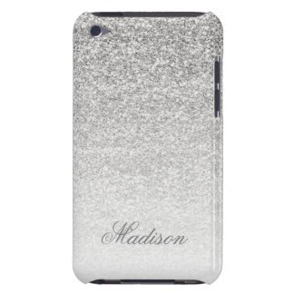 Ombre Silver Glitter iPod Touch Case