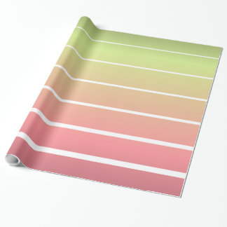 Ombre Stripes Wrapping Paper