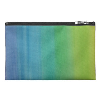Ombre Watercolor Print Travel Bag Mermaid Colors