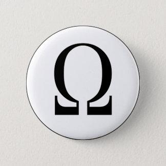 Omega 6 Cm Round Badge