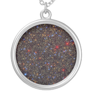 Omega Centauri Globular Star Cluster NGC 5139 Round Pendant Necklace