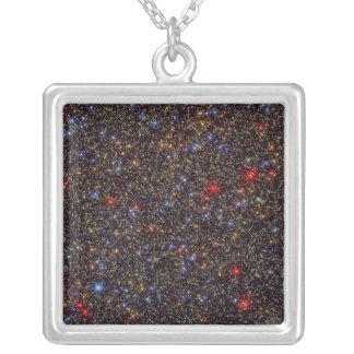Omega Centauri Globular Star Cluster NGC 5139 Square Pendant Necklace