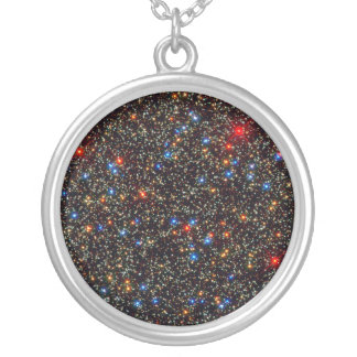 Omega Centauri Silver Plated Necklace