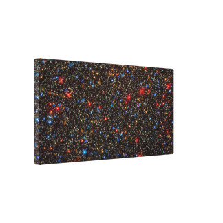 Omega Centauri Star Cluster Gallery Wrapped Canvas