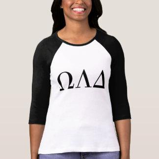 Omega Lambda Delta Women's 3/4 Raglan Tee