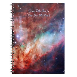 Omega Nebula - Our Amazing Universe Spiral Notebook