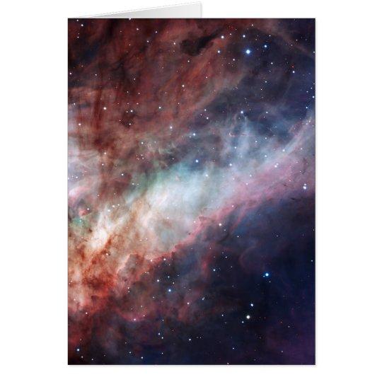 Omega or Swan Nebula M17 Card