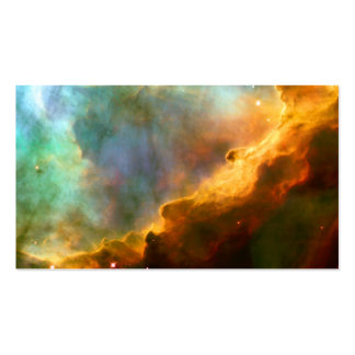 Omega / Swan Nebula Hubble Space Pack Of Standard Business Cards