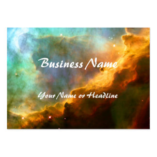 Omega / Swan Nebula (Hubble Telescope) Business Card Templates