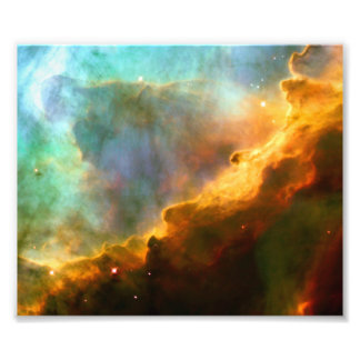 Omega / Swan Nebula (Hubble Telescope) Photo Print