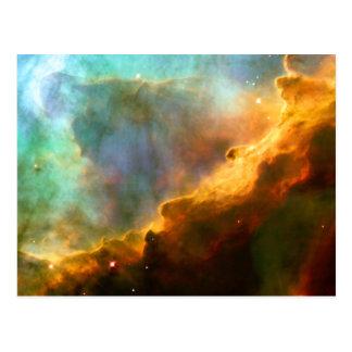 Omega Swan Nebula Hubble Telescope Postcards