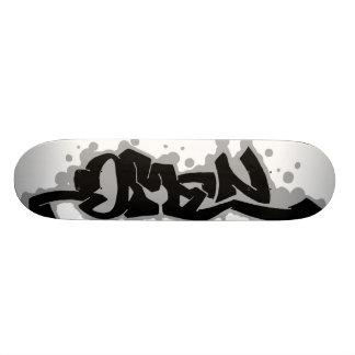 omen - pln skate board deck