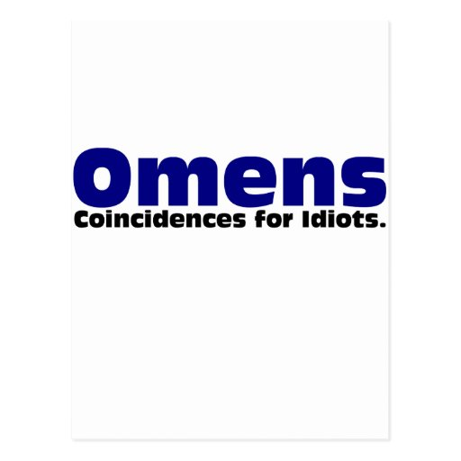 Omens Post Card