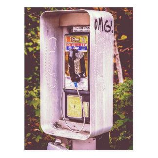OMG! A Pay Phone Postcard