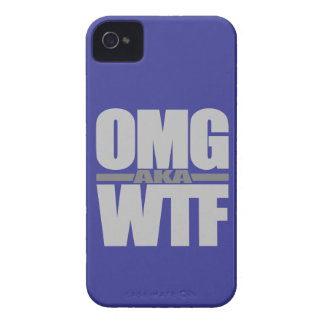 OMG aka WTF custom Blackberry case