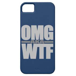 OMG aka WTF custom iPhone case