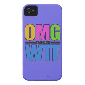 OMG aka WTF custom iPhone case-mate iPhone 4 Case-Mate Case