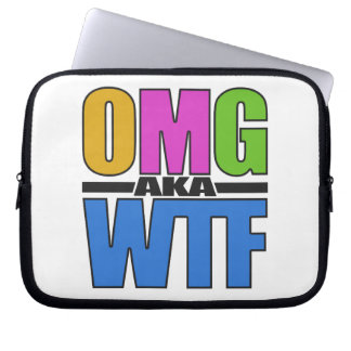 OMG aka WTF custom laptop sleeve